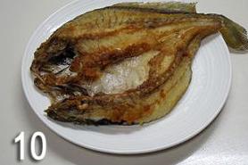 香煎黄花鱼,最后出锅的鱼。