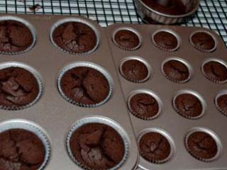 奥利奥杯子蛋糕 ,170度烘烤25分钟左右