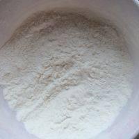 旺仔小馒头,低粉,马铃薯淀粉,奶粉,泡打粉提前混合过筛一次。