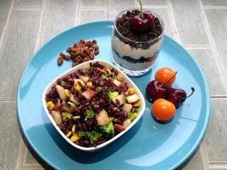 银鳕鱼杂蔬三米饭