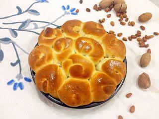 蜂蜜果仁肉桂面包卷