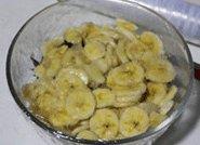 八角红糖香蕉果酱,覆上保鲜膜,冷藏8-12小时