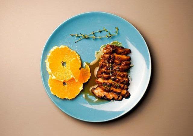 香橙煎鸭胸