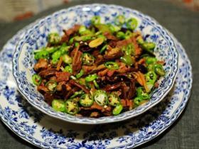 茶树菇肉片