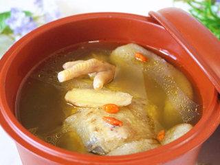 浓香竹荪鸡汤,原汁原味鸡汤