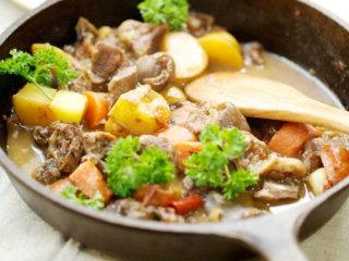 烩烤羊腿肉,Enjoy