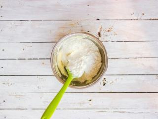 柠檬塔,过筛入低筋面粉、细砂糖、盐
