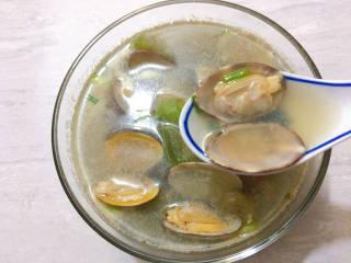 丝瓜花蛤汤,夏季应季花蛤丝瓜汤就做好啦