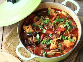 蔬菜牦牛肉锅