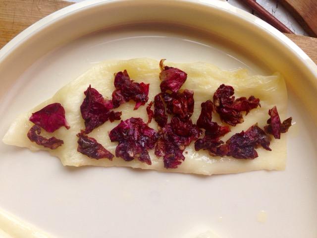 玫瑰烤乳扇的做法和步骤第6张图