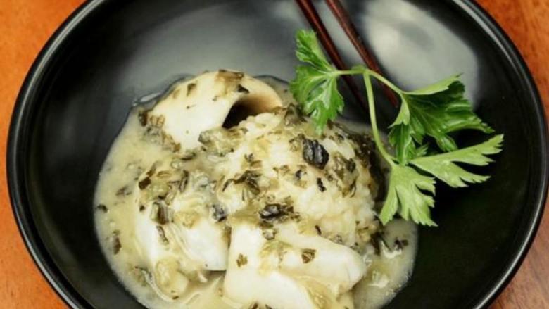 黄鱼雪里蕻捞饭