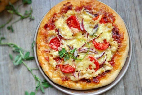 黑椒雞肉披薩