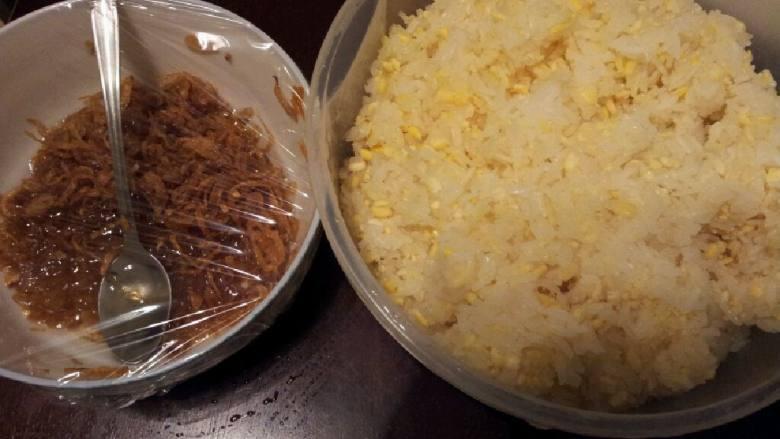 红葱头糯米饭