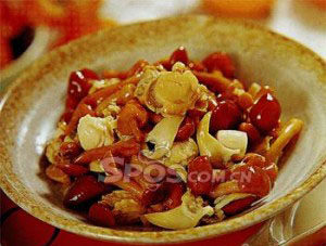 滑子菇烩海鲜
