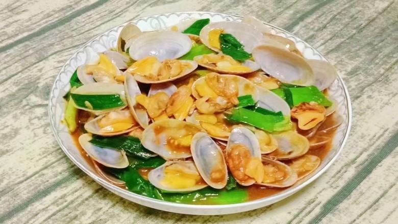 海鲜酱炒花甲