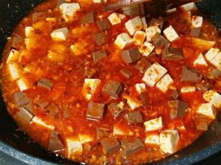鲜嫩十足下饭神器鸭血豆腐,煮成这个样子