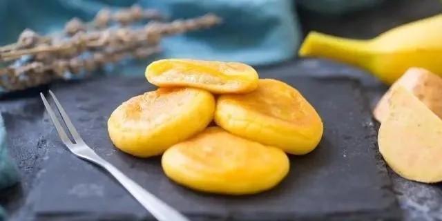 红薯香蕉小饼