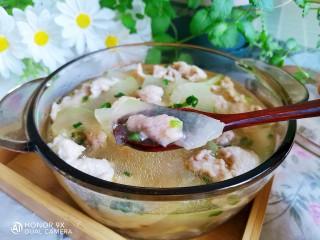 冬瓜瘦肉汤,一道味道鲜美,老少皆宜的冬瓜瘦肉汤就做好了