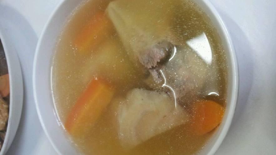 葛根胡萝卜排骨养颜汤