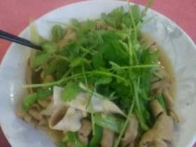 芹菜炒鹅肠