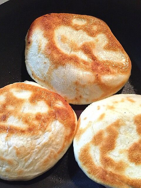家常椒盐发面饼