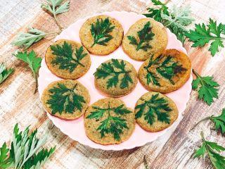 艾叶绿豆饼