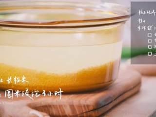 粽子&芥菜咸蛋汤,1/2长粒米,1/2圆米浸泡三小时