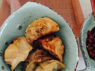 猪肉煎饺,成品,没看火导致有点焦,还是不影响口感