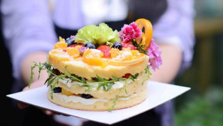 #春日烘焙教室#裸蛋糕