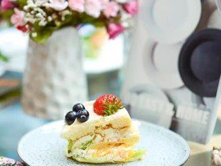 #春日烘焙教室#裸蛋糕,本次活动的作品展示;