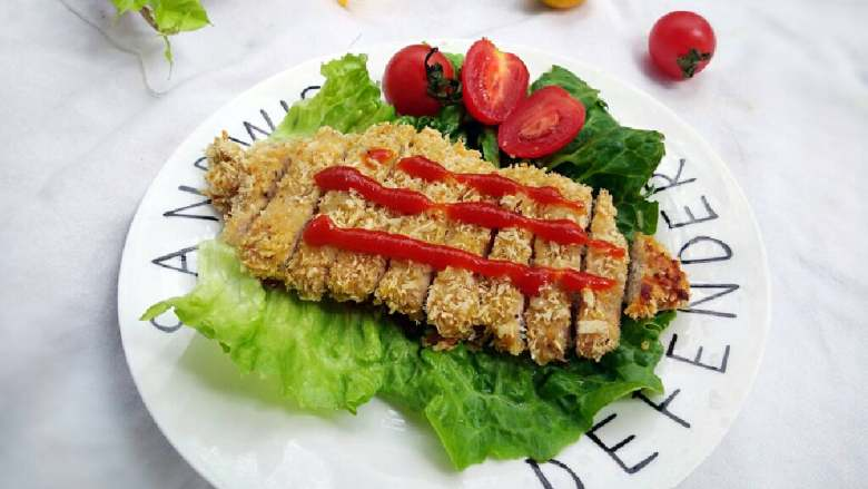 烤猪排 #健康美颜餐#