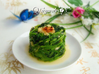 蒜香菠菜塔 #健康美颜餐#