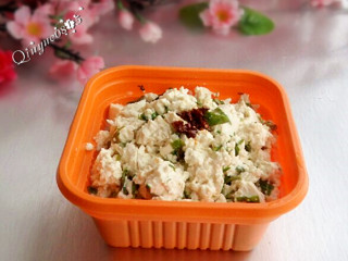 香椿拌豆腐#健康美颜餐#