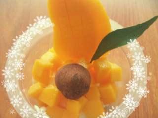芒果班戟,切芒果
