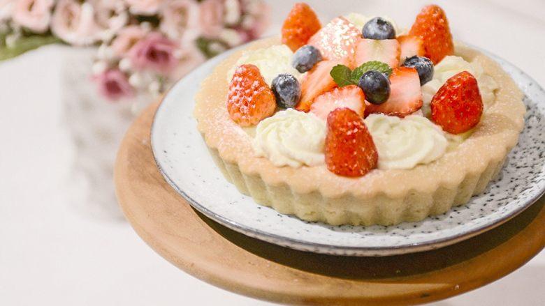 #春日烘焙教室#草莓塔/水果塔,作品们