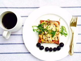 30天不重复的快手早餐,吐司披萨