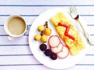 30天不重复的快手早餐,蛋包饭