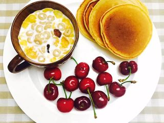 30天不重复的快手早餐,橙味松饼