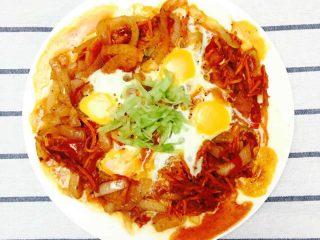 30天不重复的快手早餐,北非蛋
