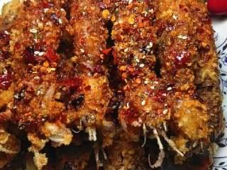 蜜汁椒盐皮皮虾