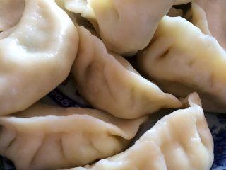 韭菜香菇肉饺
