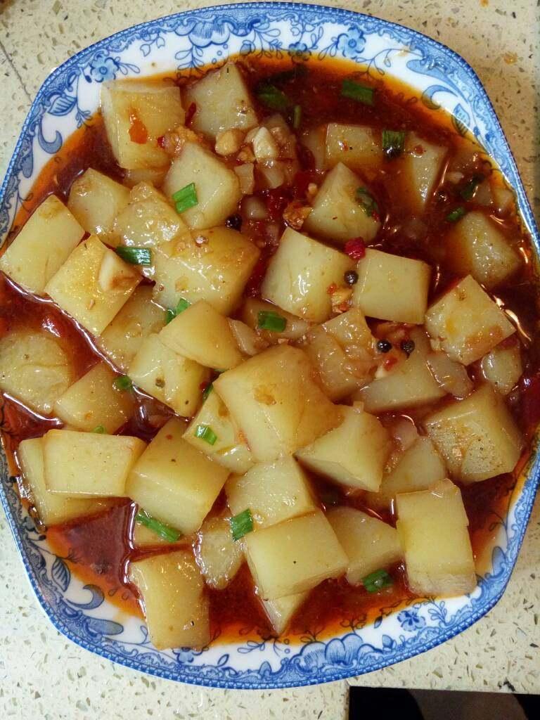 麻辣米豆腐