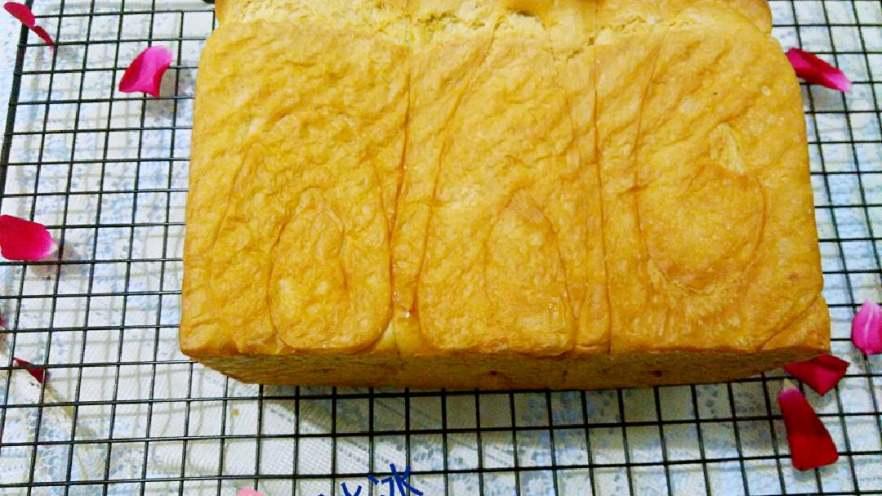 北海道吐司——100%中种法