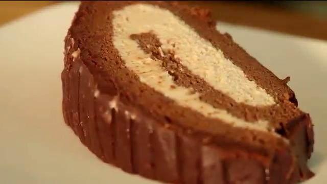 树根蛋糕卷