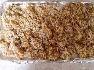 鸡米花烤箱版,锡纸防止烤胡