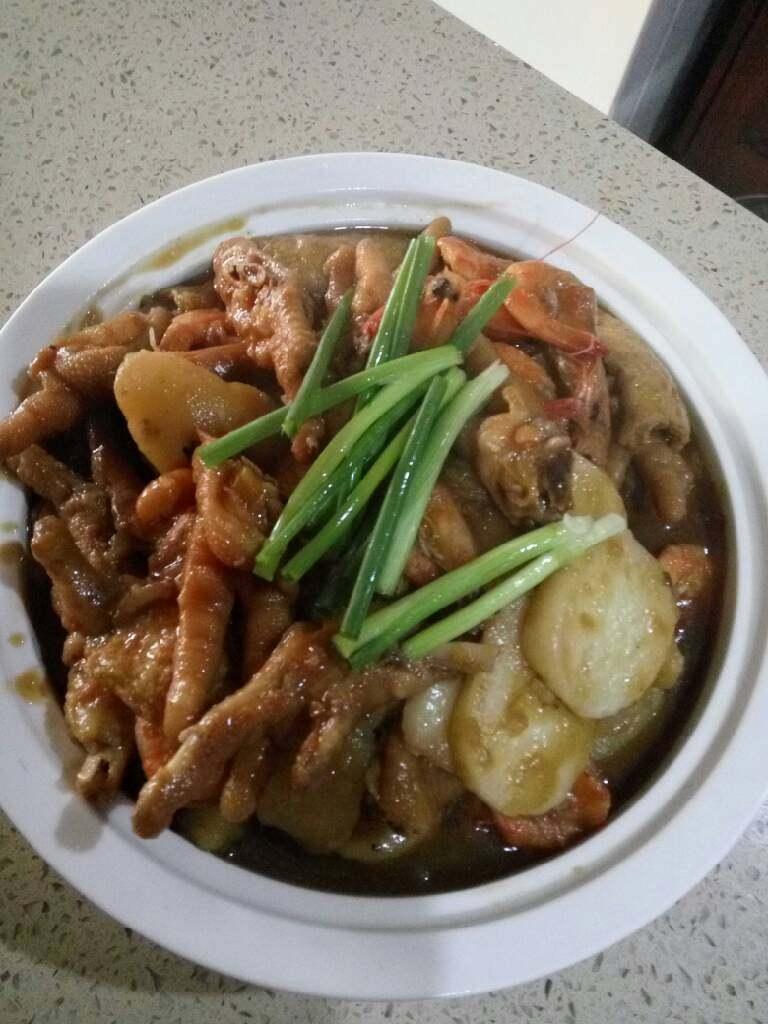虾(蟹)肉煲