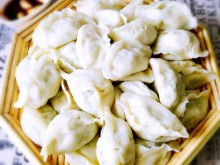鲅鱼饺子,煮好即可开吃喽……