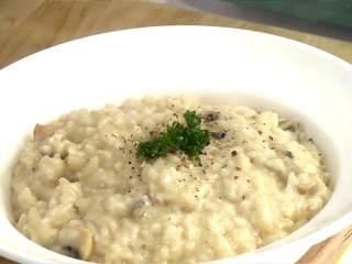 牛肝菌起司燉飯