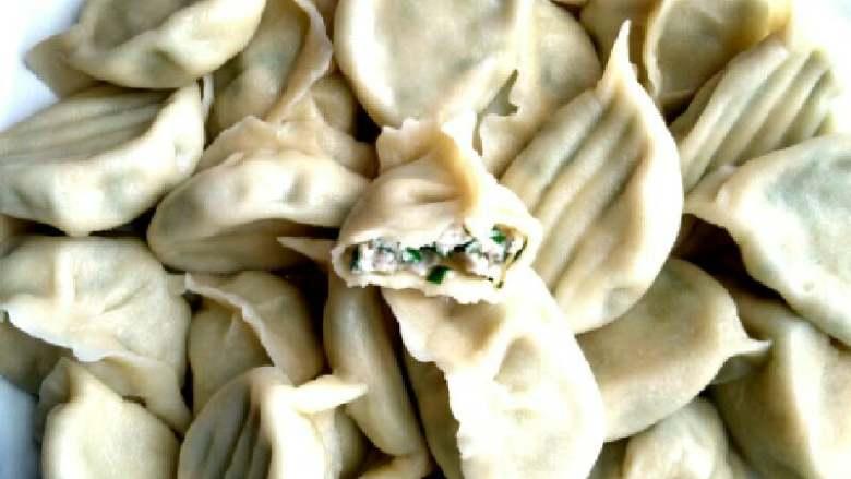 #白白胖胖的鲅鱼🐠水饺#,白白胖胖的鲅鱼饺子出锅喽😊