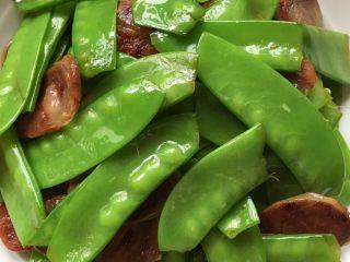 腊味荷兰豆